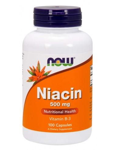 NOW NIACIN 500mg 100 CAPS