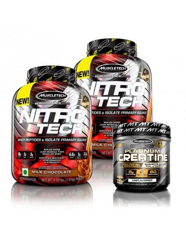 MuscleTech Nitrotech 4lbs &...