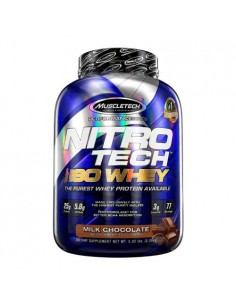 MuscleTech NITRO-TECH 100% Iso Whey