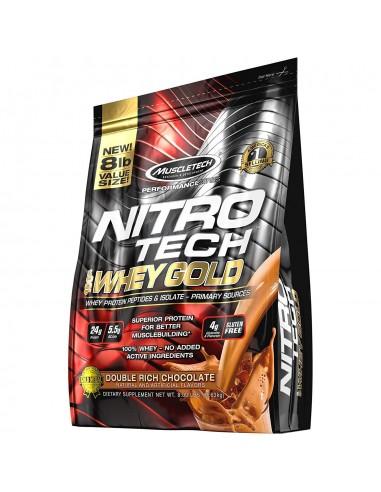 MuscleTech NITRO-TECH 100% Whey Gold,...